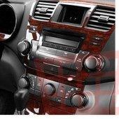 Renault Clio 2005 2012 Arası 15 Parça Maun Göğüs Kaplaması