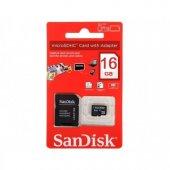 16 Gb Hafıza Kartı Sandisk Taiwan Class 10