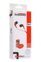 Metal Mp3 Çalar Kırmızı Renk Subzero