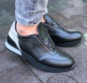 Conteyner 241 Nova Siyah Renk Süet Günlük Ayakkabı