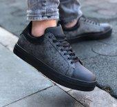 Conteyner 285 Negron Siyah Renk Günlük Ayakkabı