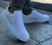 Conteyner 406 İpek Beyaz Renk Günlük Ayakkabı