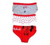 Dsiney Minnie Mouse 3lü Kız Çocuk Külot 5 6 Yaş