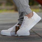 Conteyner 406 İpek Beyaz Günlük Erkek Ayakkabı