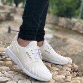Conteyner 702 Örme Beyaz Erkek Günlük Ayakkabı