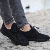 G Class 2015 01 Siyah Erkek Spor Ayakkabı