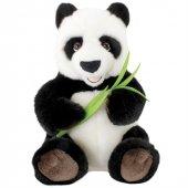 Animals Of The World Oturan Bambulu Panda Peluş Oyuncak 30 Cm