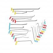 Pdr Boyasız Göçük Düzeltme Çubukları 25 Parça