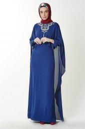 Kayra Abiye Elbise Saks Ka B7 23079 74
