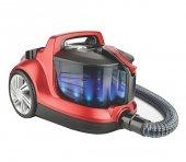 Fakir Veyron Turbo Xl Premium Toz Torbasız Elektrikli Süpürge Kırmızı