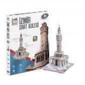 Puzzle İzmir Saat Kulesi 3d Maket
