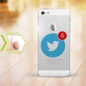 Kişiye Özel Iphone 5 5s İnce Şeffaf Silikon Telefon Kapağı (Twi