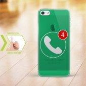 Kişiye Özel Iphone 5 5s İnce Şeffaf Silikon Telefon Kapağı (Cev
