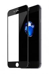 Baseus Siyah 3d Arc Kavisli Temperli Cam İphone 7 8 Ekran Koruyucu