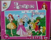 Prenses Puzzle 130 Parça Çocuklar İçin Puzzle Pazıl