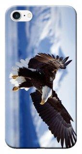 Iphone 6 6s Kılıf Silikon Baskılı Kartal Stk 183