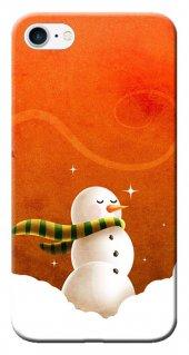 Iphone 6 6s Kılıf Silikon Baskılı Kardan Adam Stk 227