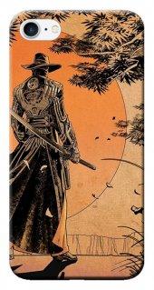 Iphone 6 6s Kılıf Silikon Baskılı Samurai Stk 256