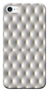 Iphone 6 6s Kılıf Silikon Baskılı Gümüş Model Stk 279