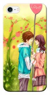 Iphone 6 6s Kılıf Silikon Baskılı Love Anime Stk 308