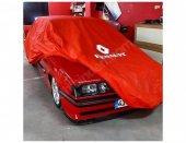 Renault Araca Özel Logolu Kırmızı Branda