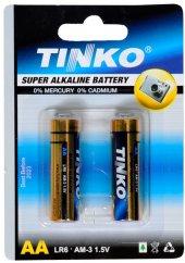 Tinko Alkalin Pil Kalem 2&#039 Li Blister Paket