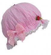 Bay Şapkacı Kız Bebek Fiyonklu Şapka