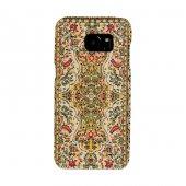 Samsung Galaxy S7 Edge Kapak Revan El Yapımı Kilim Desenli Kumaş