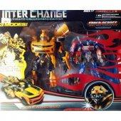 Transformers Bumblebee Araba Ve Optimus Prime Tır 40cm