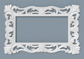 Papatya Ayna Cercevesı 70x100 Beyaz