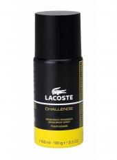 Lacoste Challenge Deo Spray 150 Ml