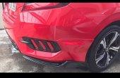 Honda Civic 2016 2019 Fc5 Arka Tampon Kalın Model Flap Takımı