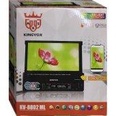 Kıngvox Kv 8802 Ml Mırror Lınk Bluetooth İndash Oto Teyp