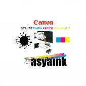 Canon Pg545 Ve Cl546 Uyumlu Asyaink Kartuş Dolum Seti