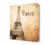 Paris Yazılı Eyfel Kulesi Tablosu