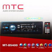 Mtc Mt B5400 Bluetoothlu Usb Sd Mp3 Wma Am Fm Mpx