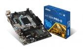 Msı H110m Pro D Intel H110 2133mhz Ddr4 Soket 1151 Matx Anakart