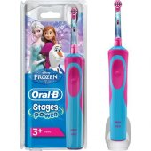 Oral B Frozen Şarj Edilebilir Diş Fırçası Çocuklar İçin