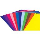 Bafix Fosforlu Fon Kartonu 120gr 50 70cm Karışık Renk 100 Adet