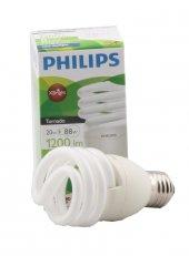 Philips Economytwister 20w Ampul Cdl E27 1pf 6