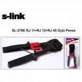 S Link Sl 378e Crımp Tool Rj 11+rj 12+rj 45