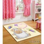çapa Ve Yıldız Desenli Çocuk Odası Halısı