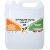 Tito Tropikal Kavun Aroması Suda Çözünür 5 Lt