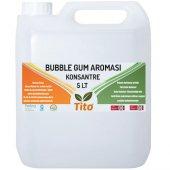 Tito Bubble Gum Aroması Suda Çözünür 5 Lt