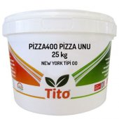 Tito Pizza400 New York Tipi 00 Pizza Unu 25 Kg