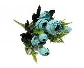 Cici Mavi Rengi Yapay Şakayık Çiçeği (Gelin Çiçeği İçin)