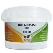 Tito Toz Gül Aroması Suda Çözünür 100 Gr