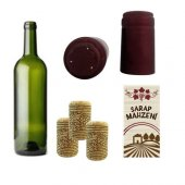 Vino Şarap Ambalajlama (Şişeleme) Seti 35 Şişelik