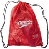 Speedo Equip Mesh Xu Kırmızı Yüzme Çantası Sp8074076446
