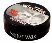 Sector Süper Wax Hairmate Weet Look Siyah